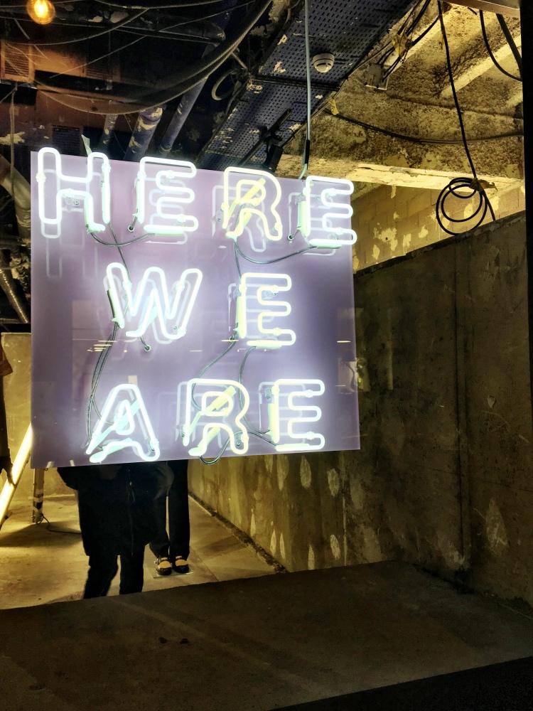 Burberry Here We Are exhibit Paris 2018 2