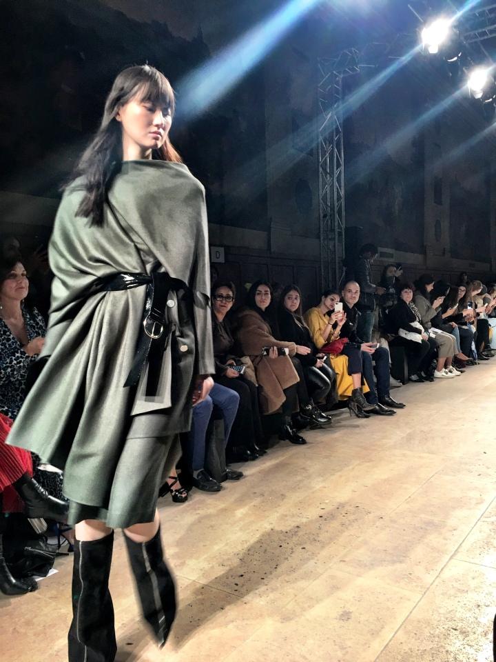 Kristina Fidelskaya 2018 Paris Fashion Week