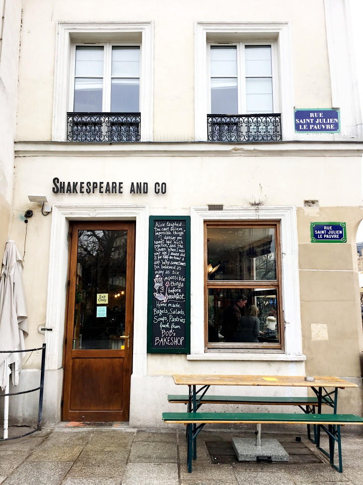Shakespeare and Company Cafe Paris France