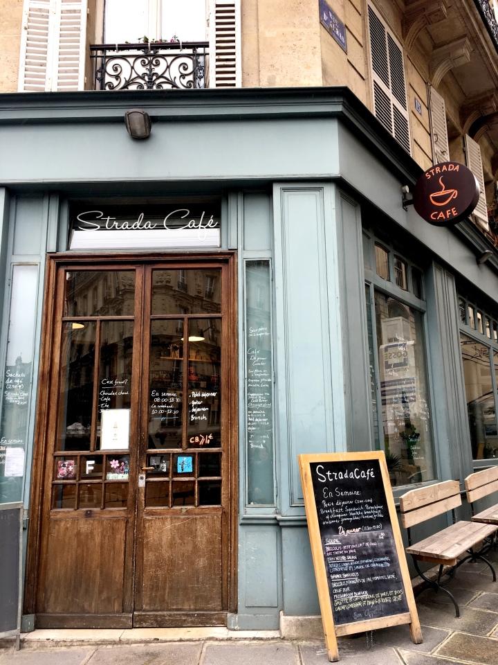 Strada Cafe rue Monge Paris France
