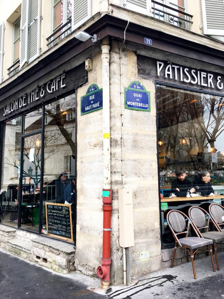 A LaCroix Patisserie Paris France