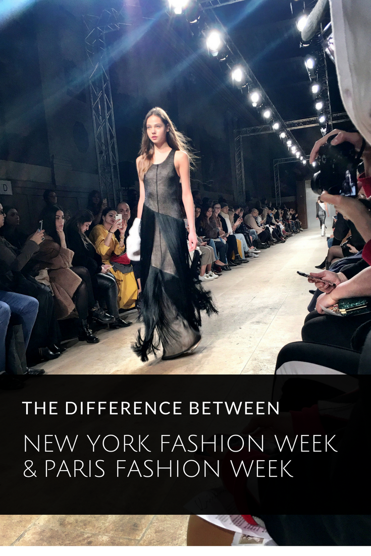 New York Fashion Week vs. Paris Fashion Week