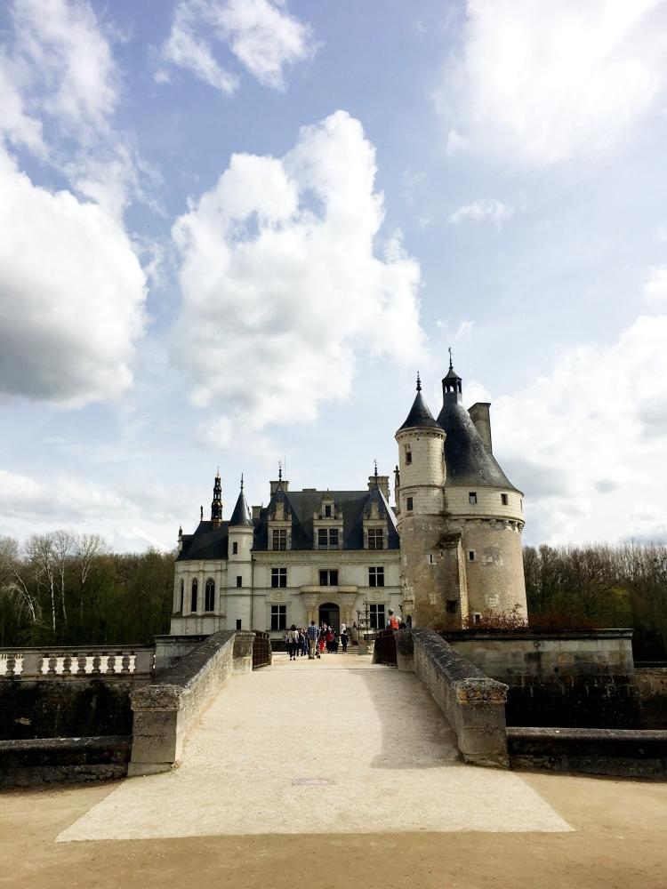 Château de Chenonceau front entrance