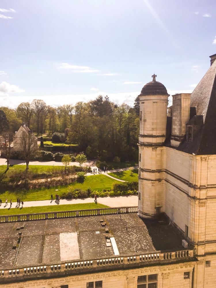Chateau de Chambord exterior view