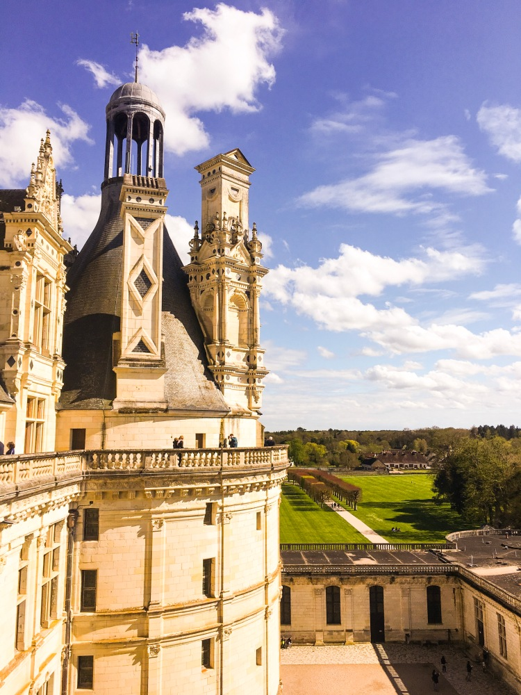 Exterior Chateau Chambord