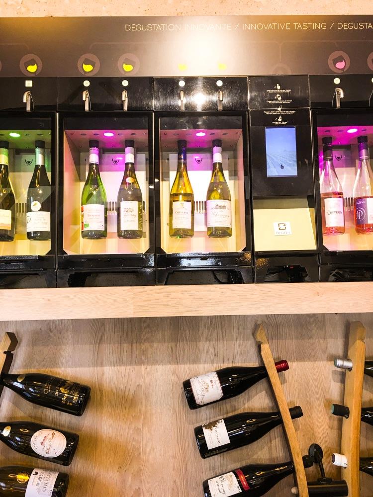 Chateau Chambord wine tasting