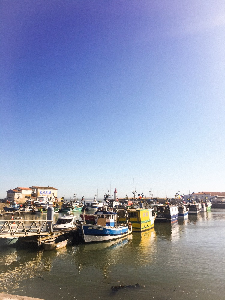 La Cotiniere port Île d'Oléron
