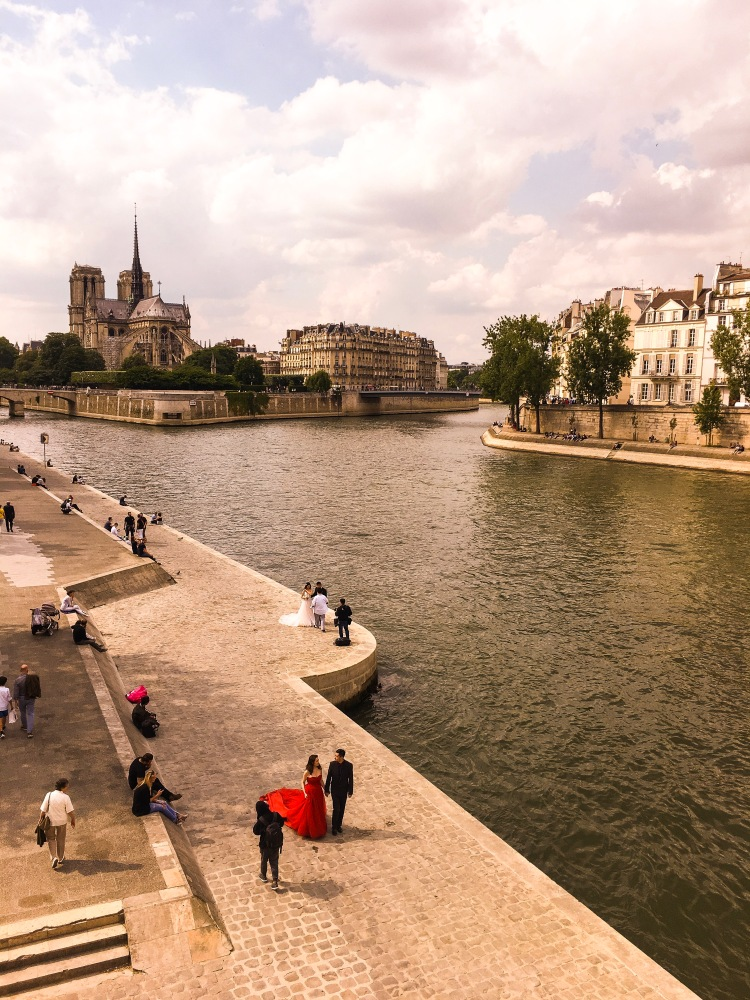 Notre Dame view
