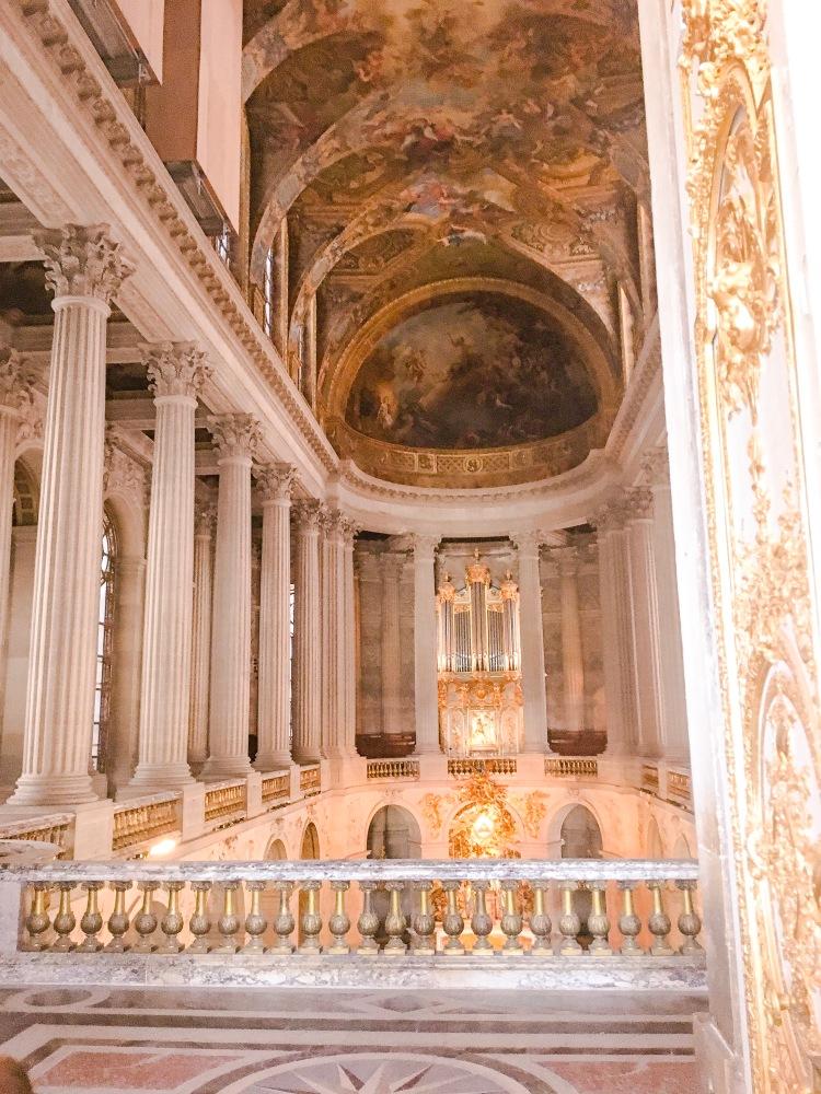 Chateau de Versailles Chapel