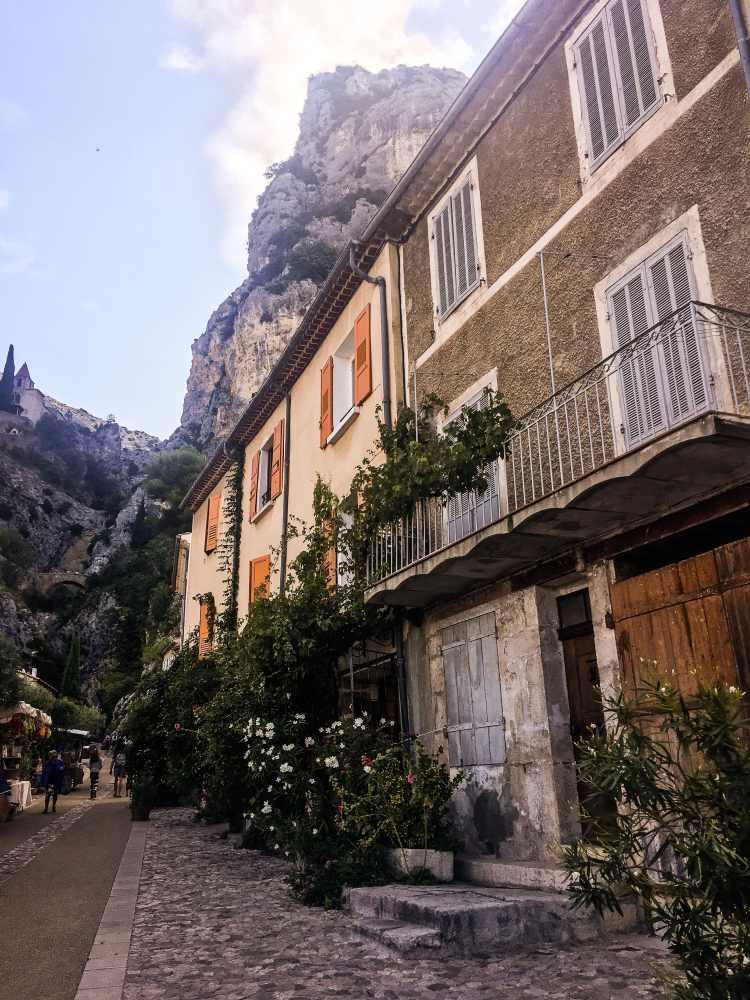 Moustiers-Sainte-Marie France