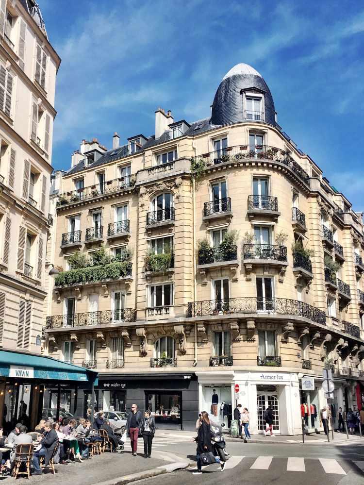 Parisian street by Jardin du Luxembourg