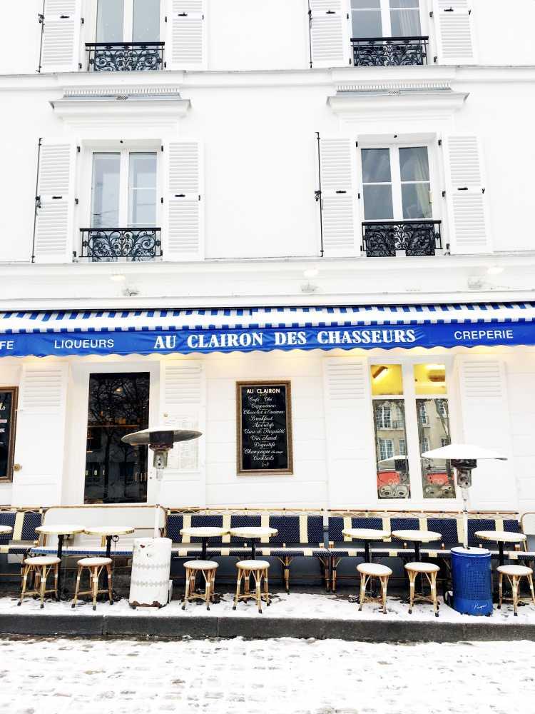 Au Clairon des Chasseurs Montmartre Paris