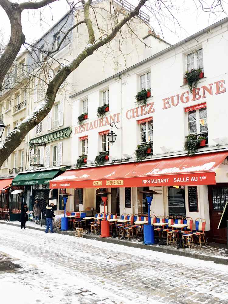 Chez Eugène Montmartre Paris