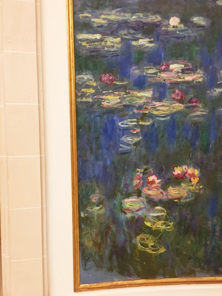 Monet's Water Lilies at Musée de l'Orangerie Paris France