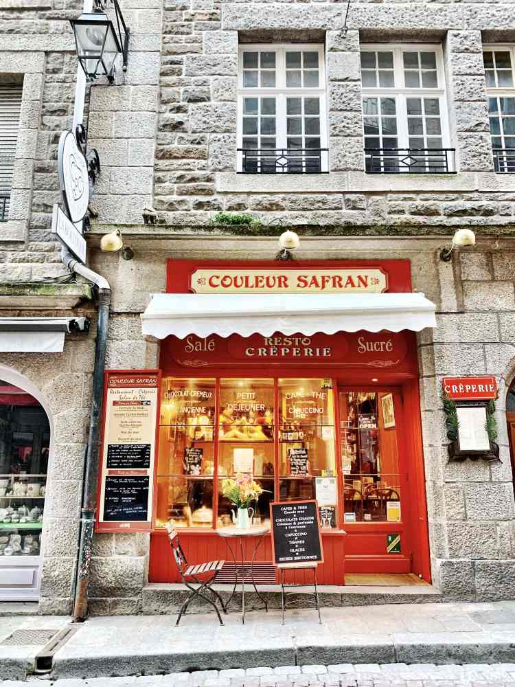 Couleur Safran Creperie Saint Malo France - PS by MH