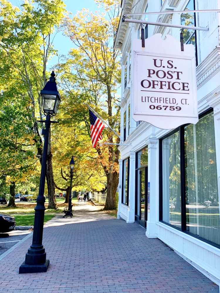 Litchfield Connecticut Post Office
