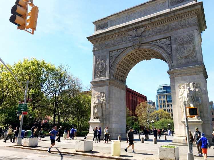 Washington Square Park in New York City