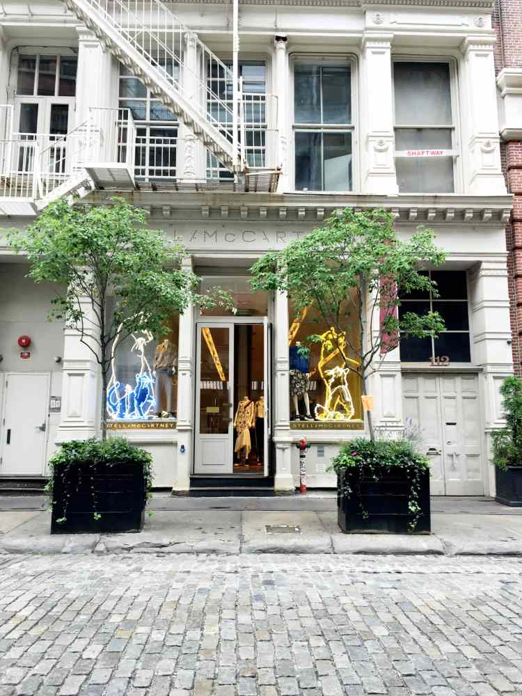 Stella McCartney store in New York City