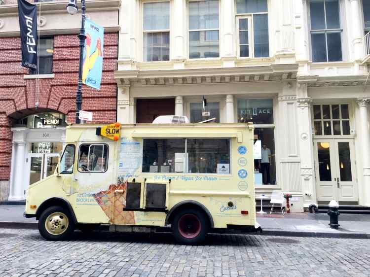 Van Leeuwen vegan ice cream truck