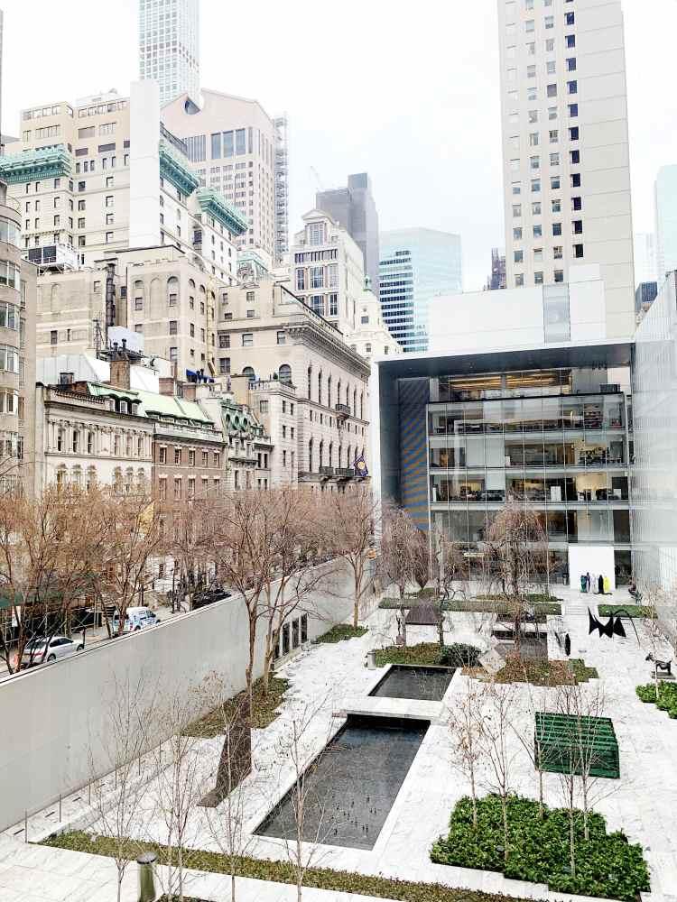 MoMA courtyard New York City