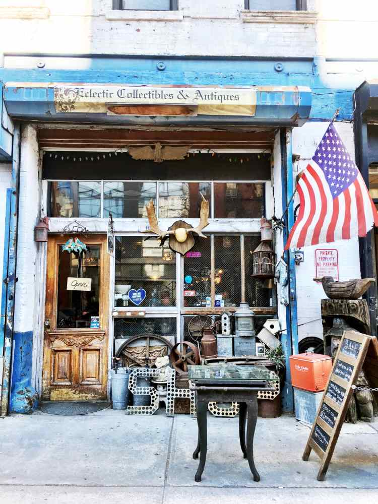 Brooklyn New York antiques