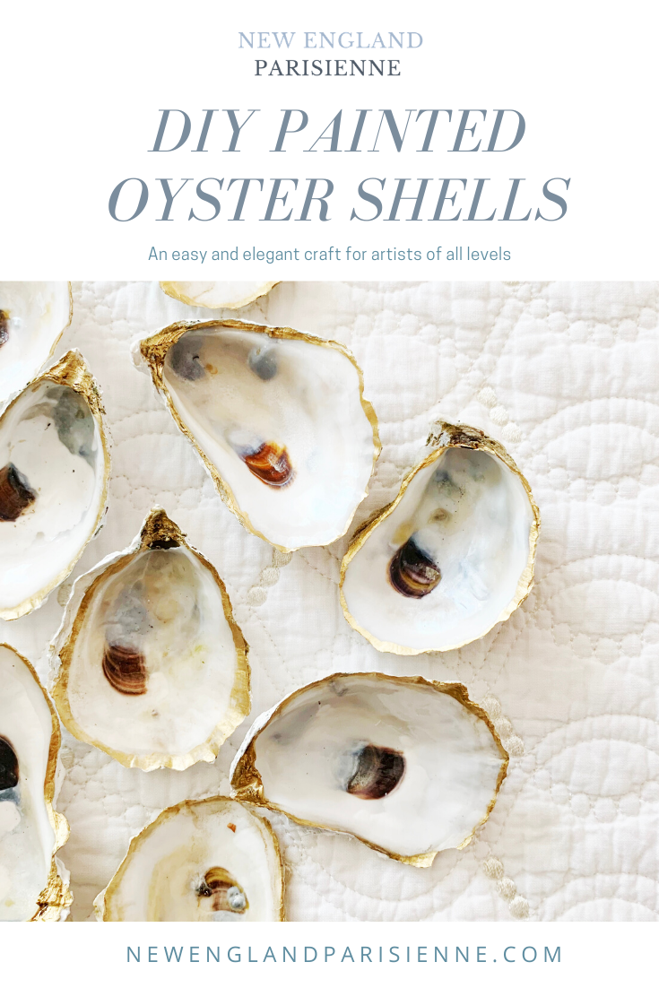 How to Paint Oyster Shells
