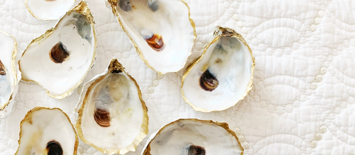 How to Make Your Own Painted Oyster Shells